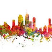 Brisbane Australia Cityscape 08 Art Print