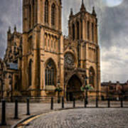 Bristol Cathedral Art Print