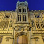 Bristol Guildhall By Night Art Print