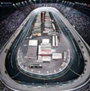 Bristol Motor Speedway Racing The Way It Ought To Be Art Print