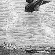 British Airship, 1919 Art Print