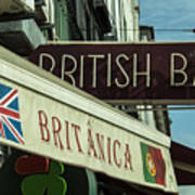 British Bar Britanica  Art Print