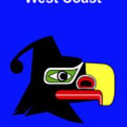 British Columbia West Coast Print by Asbjorn Lonvig