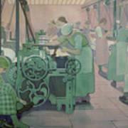 British Industries - Cotton Art Print