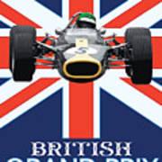 British Lotus Art Print