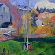 Brittany Landscape Art Print