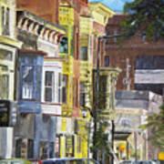 Broad Street Art Print