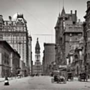 Broad Street Philadelphia 1905 Art Print