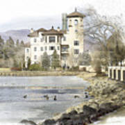 Broadmoor Hotel Art Print
