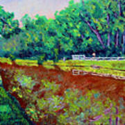 Broadripple Canal Art Print