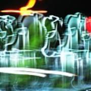 Broadway Lights Art Print