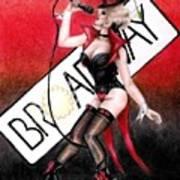 Broadway Style Art Print