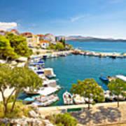 Brodarica Village On Adriatic Sea Art Print