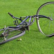 Broken Bike Art Print