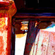 Broken Door By Michael Fitzpatrick Art Print