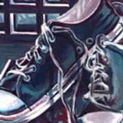 Broken-in Converse Art Print