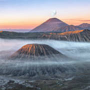 bromo tengger semeru national park - Java Art Print