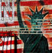 Bronx Graffiti - 4 Art Print