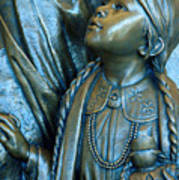 Bronze Onieda Indian Girl Art Print