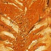 Bronze Roots II Art Print by Anne-Elizabeth Whiteway