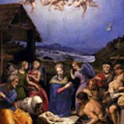 Bronzino Agnolo Painting Art Print