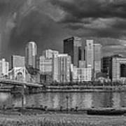 Brooding Above The Burgh Art Print by Jennifer Grover