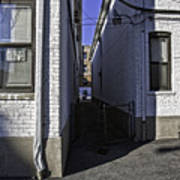 Brooklyn Alleyway Art Print