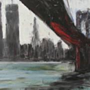 Brooklyn Bleeding Art Print