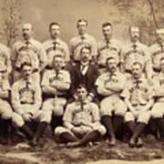 Brooklyn Bridegrooms Baseball Team Art Print