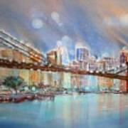 Brooklyn Bridge New York Art Print
