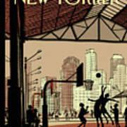 Brooklyn Bridge Park Art Print