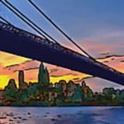 Brooklyn Bridge Collection - 2 Art Print