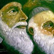 Brooklyn Rabbi Art Print