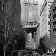 Brooklyn Taxi Art Print