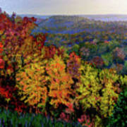 Brown County Autumn Art Print