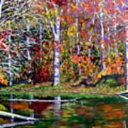 Brown County In Fall Art Print