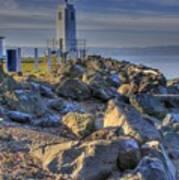 Browns Point Lighthouse Art Print