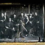 Bruce And The E Street Band Art Print