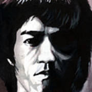 Bruce Lee Portrait Art Print