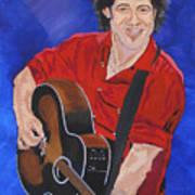 Bruce Springsteen-an American Boy Art Print