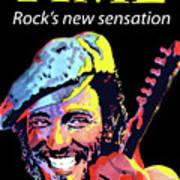 Bruce Springsteen Time Magazine Cover 1980s Art Print