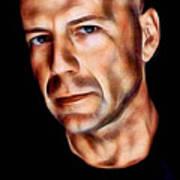 Bruce Willis Collection Art Print