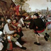 Bruegel, Peasant Dance Art Print