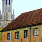 Bruges 18 Art Print