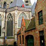 Bruges 27 Art Print