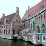 Bruges 4 Art Print