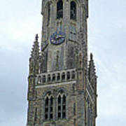 Bruges Belfry 2 Art Print