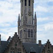 Bruges Belfry 7 Art Print