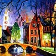 Bruges Belgium Art Print