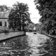 Bruges Bw2 Art Print